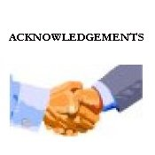 ACKNOWLEDGEMENTS Click here to see a list various people who gave me invaluable assistance in the development of this webpage.