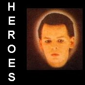 HEROES Click on this button to find out who my heroes are from the worlds of music, sport and entertainment .