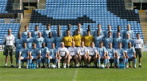 Coventry City FC 07/08 Season